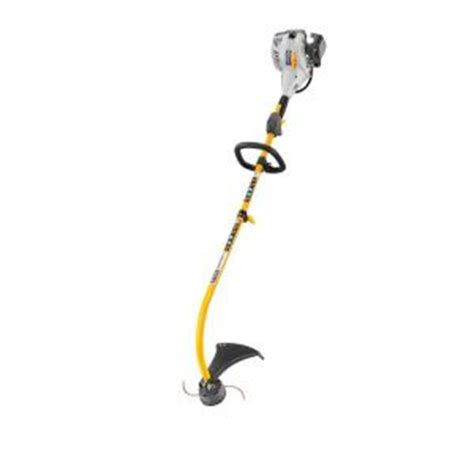 ryobi 2 cycle 26cc gas curved shaft trimmer ry28120 the