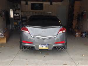 2006 Acura Tl Exhaust 4g Acura Tl W Magnaflow Exhaust