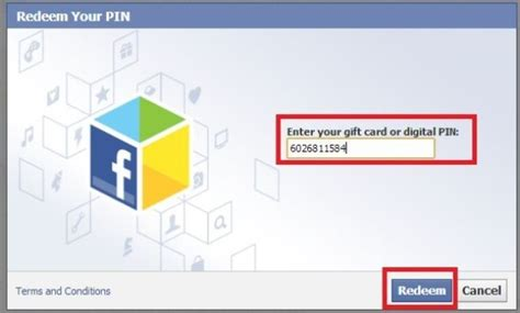 gift card - Facebook Redeem Gift Card Codes Free