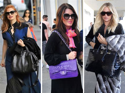 Other Designers Hilary Duff With Designer Travel Bags by Shop In Perpetuity With Bags From Givenchy Chanel