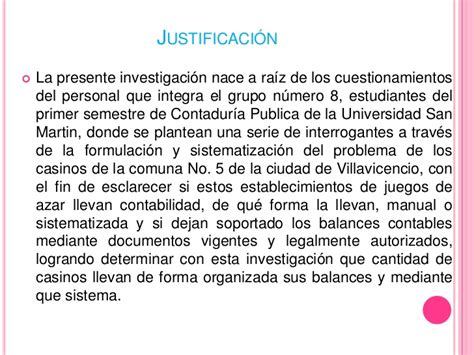 ejemplos de justificacion justificaci 243 n y objetivos de la investigaci 243 n contable de
