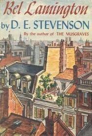 bel book and a belfast mcgrath mystery bel mcgrath mysteries books bel lamington by d e stevenson reviews discussion