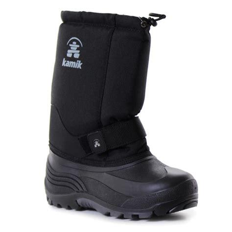 wide width snow boots kamik rocket wide width winter boots glenn