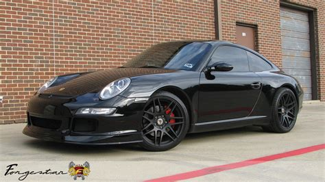Porsche 997s by D2 Autosport Porsche 997s With 19 Forgestar F14 In Matte