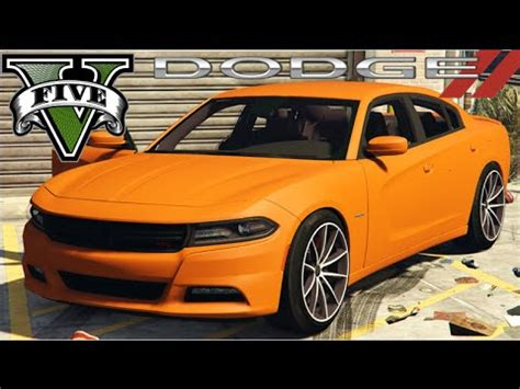 dodge charger rt mods gta v mods 2015 dodge charger rt