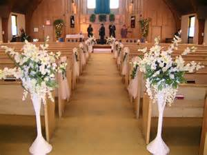 ideas for wedding decorations getting it right with church wedding decorations wedding