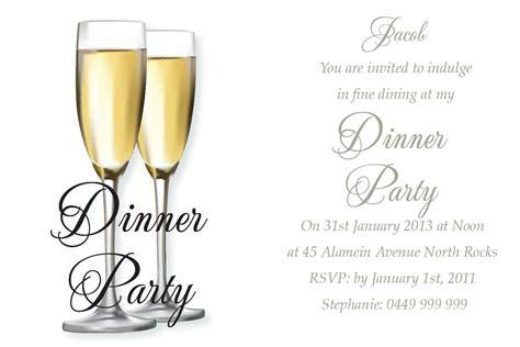 dinner invitation etsy