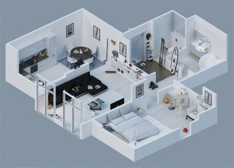 machine shop layout design apartment designs shown with rendered 3d floor plans