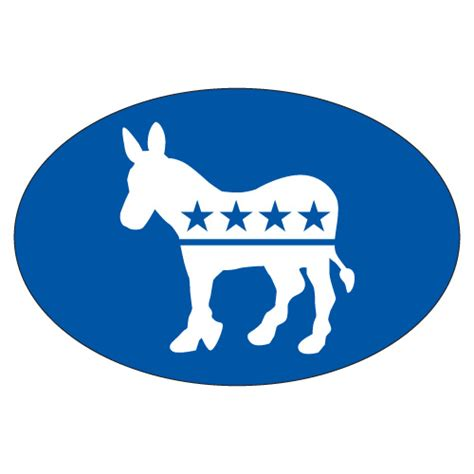 what is a blue democrat democrat bumper sticker blue 171 political sign