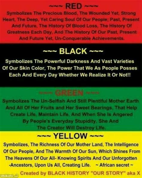 black history month colors rbgy our colors black power black history month