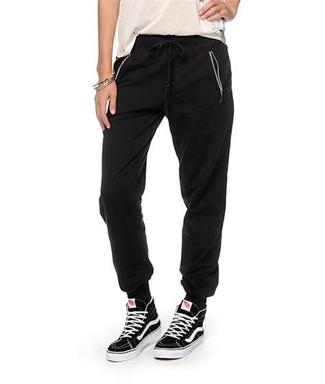 joggers zipper