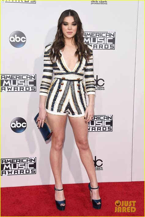 The Pathetic Story The Amas by Hailee Steinfeld Shawn Mendes Us In Stitches At