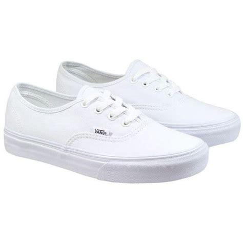Vans Authentice Pull White Icc best 25 vans shoes ideas on vans