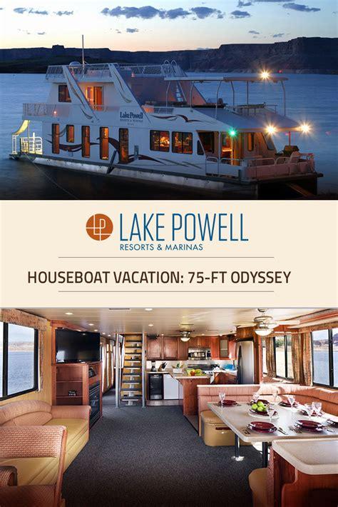 houseboats az odyssey luxury houseboat rental lake powell resorts