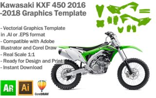motocross graphic templates kxf graphics templates artabrian motocross mx graphic