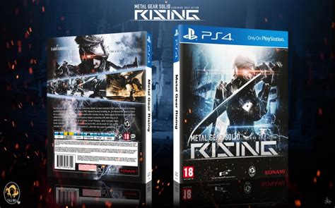 Ps3 Bd Metal Gear Rising metal gear solid rising playstation 4 box cover by visutox