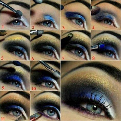 eyeshadow tutorial for blue eyes 20 beautiful makeup tutorials for blue eyes pretty designs