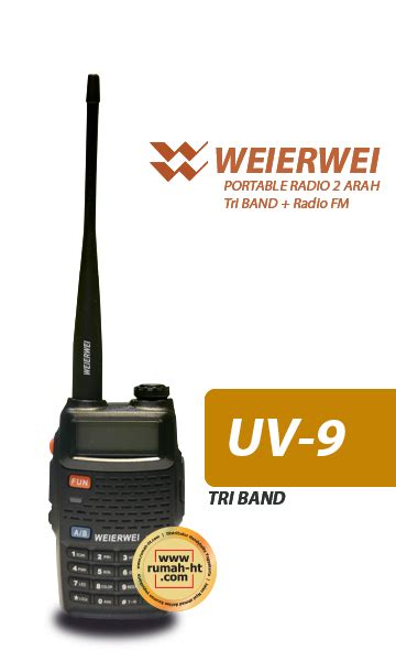 Radio Ht Handy Talky Weierwei V8 Plus Quality weierwei 187 187 jual alat radio komunikasi ht handy talky