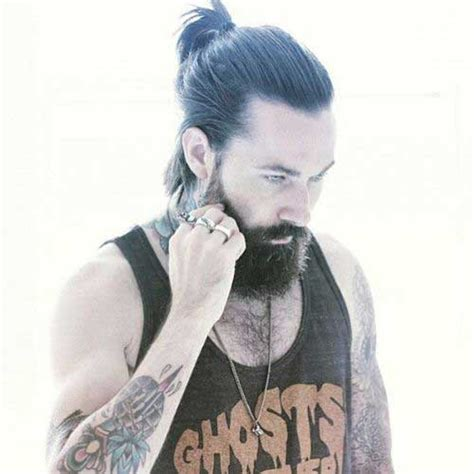 mens ponytail hairstyles 15 ponytail hairstyles mens hairstyles 2018