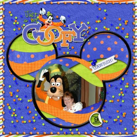 Just A Goofy by Just A Bit Goofy Spherized Mousescrappers Disney