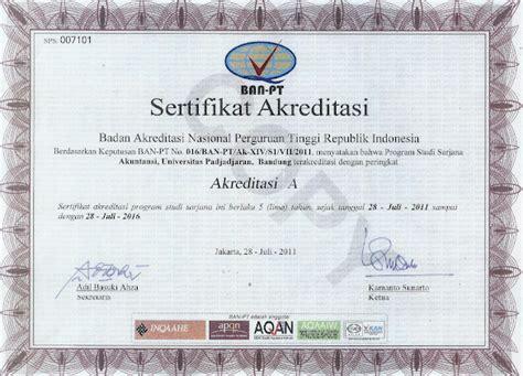 Surat Akreditasi Ban Pt Untuk Cpns contoh surat keterangan akreditasi dari ban pt untuk