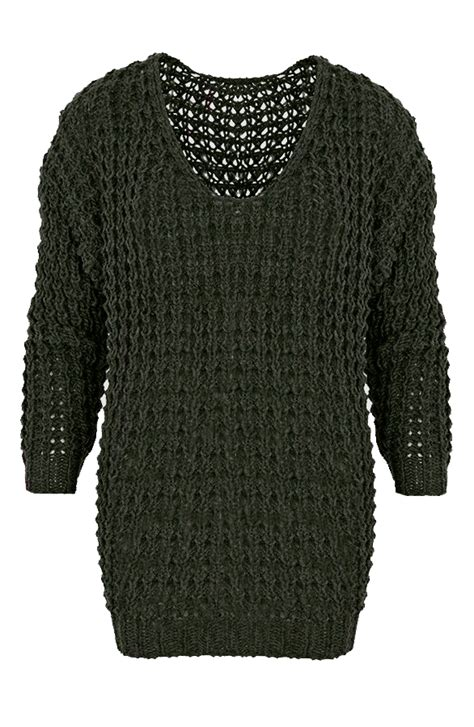 Sweter Army knitted sweater army the musthaves