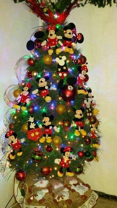 mi 225 rbol de navidad tematico de mickey y mimi mouse