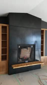 metal fireplace surrounds blackened steel fireplace surround and hearth support