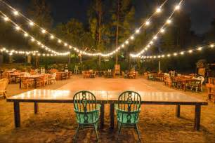 How To Level Backyard For Pool Brilliant Event And Wedding Lighting In San Diego