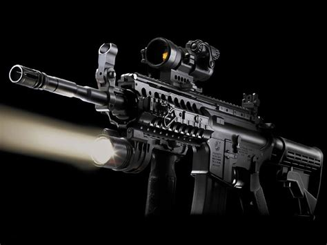 wallpaper cool rifle guns weapons m4 carbine