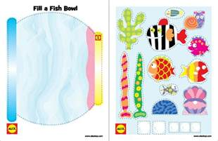 fish bowl template printable free printable 3 fish crafts alexbrands