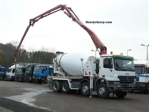 swing shutter concrete pump mercedes benz 3241 8x4 pumi swing 21m only 596 hours
