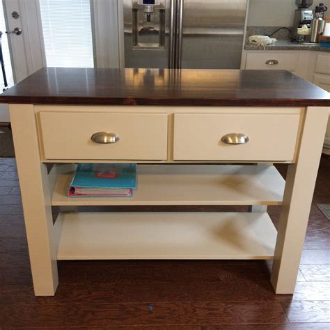 11 free kitchen island plans for you to diy k c r