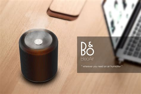 beoair air purifier and humidifier concept for olufsen tuvie
