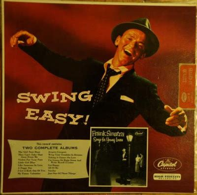 frank sinatra swing songs 47west63rd frank sinatra swing easy and songs for young