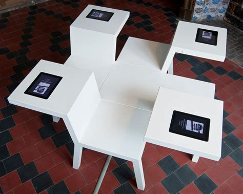 furniture layout for ipad by systemiko inc bram boo salsa table multi purpose workstation