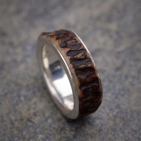 best 25 antler ring ideas on deer antler ring