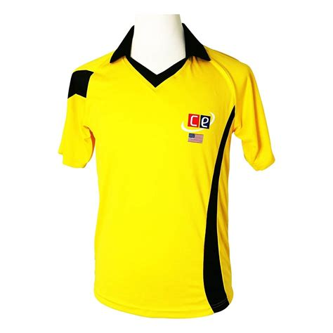 Colored Fit T Shirt colored cricket kit shirts australian colors gold green