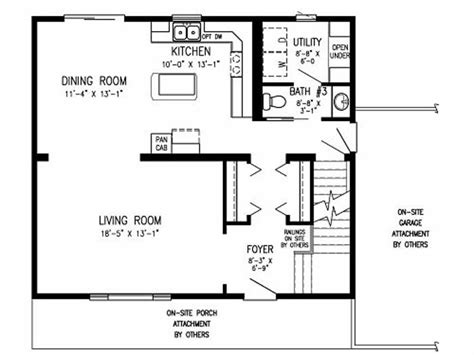 ideal homes floor plans ideal narrow lot plans montreal