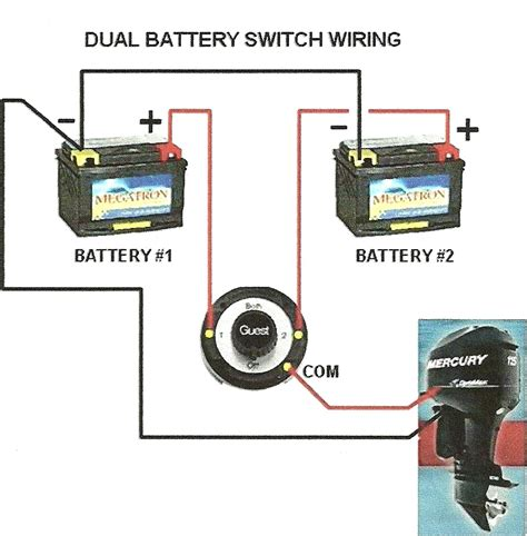 boat dual battery switch wiring diagram floralfrocks
