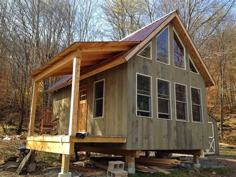 tiny cabin adam and karen s tiny off grid house