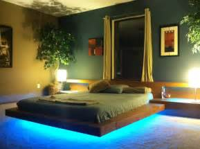 Platform Beds With Lights Made Asian Contemporary Wood Platform Beds