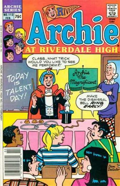 Archie Riverdale High archie at riverdale high covers 100 149