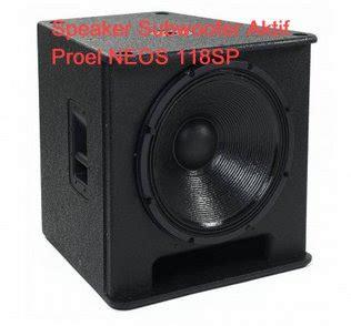 Speaker Aktif Untuk Lapangan speaker aktif subwoofer terbaik untuk sound system