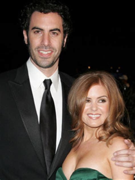 Baby Borat Confirmed by Isla Fisher Finally Confirms Pregnancy Celebsnow