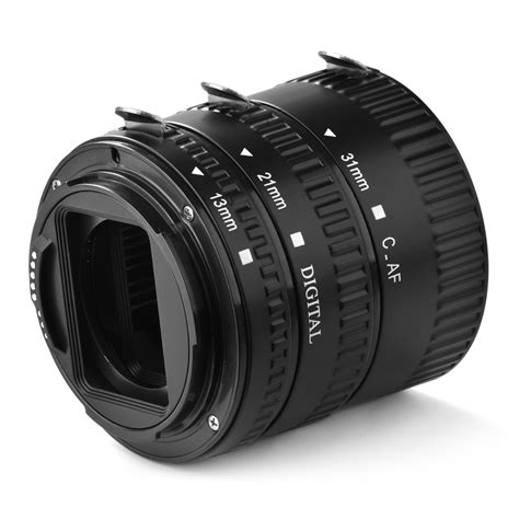 Auto Focus Extension Macro Canon Eos Tfp Baru Lensa Kamera macro auto focus extension set for canon eos up dc731 ebay