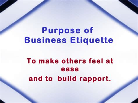 proposal business dining etiquette business dining etiquette