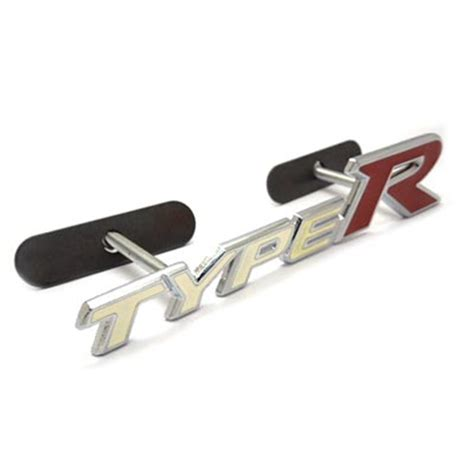 Emblem Mobil Honda Type R Putih Merah jual emblem grill mobil honda type r putih freed jazz hrv crv civic emblem mobil jakarta