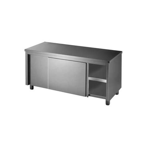stainless steel workbench cabinets stainless steel cabinet with sliding doors