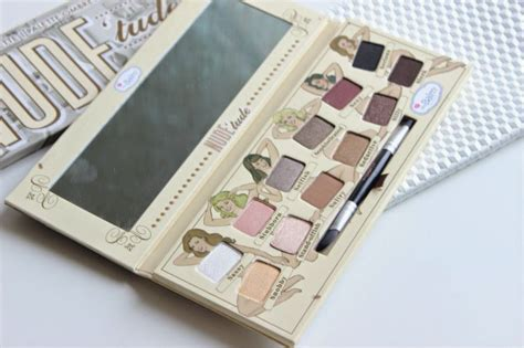 The Balm Eyeshadow Pallette the balm tude eyeshadow palette review the sunday